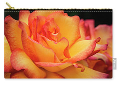 Carry-all Pouch featuring the photograph Rose Beauty by Jean Noren