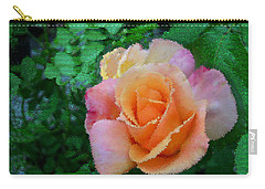 Carry-all Pouch featuring the photograph Rose by Bonnie Willis