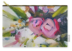 Rose Bouquet Flower Color Spring Carry-all Pouch