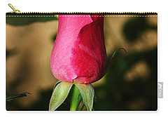 Rose Bud Carry-all Pouch by Anthony Jones