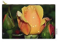 Rose Bud Carry-all Pouch by Elvira Ladocki