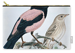 Rose Colored Starling Carry-all Pouch