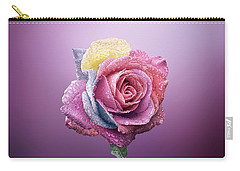 Rose Colorfull Carry-all Pouch by Bess Hamiti