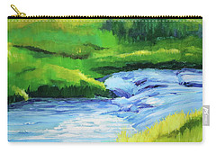 Rose Creek Summer Carry-all Pouch