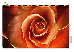 Carry-all Pouch featuring the photograph Rose by Donald Paczynski