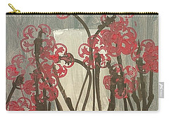 Rose Field Carry-all Pouch by Artists With Autism Inc