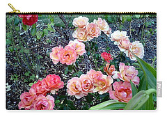 Carry-all Pouch featuring the photograph Rose Garden by Sadie Reneau