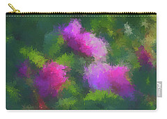 Rose Impression Carry-all Pouch by Aliceann Carlton