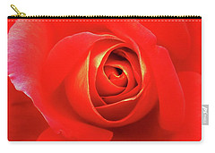 Rose Carry-all Pouch by Mary Ellen Frazee