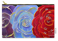 Rose Medley Carry-all Pouch