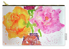 Rose Melody Carry-all Pouch