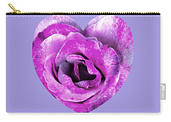 Rose Nepenthe Heart Carry-all Pouch