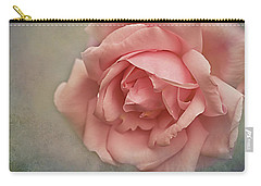Carry-all Pouch featuring the photograph Rose New Dawn by Jacqi Elmslie