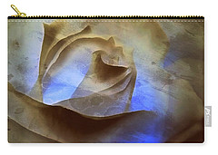 Carry-all Pouch featuring the photograph Rose - Night Visions  by Janine Riley