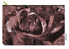 Rose No 2 Carry-all Pouch by David Bridburg