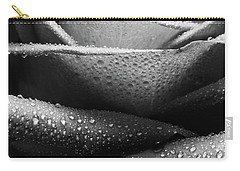 Rose Of Lines And Rain Carry-all Pouch
