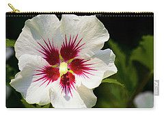 Carry-all Pouch featuring the photograph Rose Of Sharon by Christina Rollo