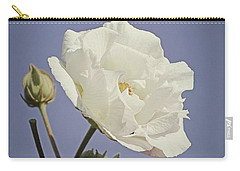 Carry-all Pouch featuring the photograph Rose Of Sharon by Elaine Teague