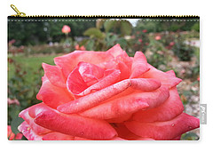 Carry-all Pouch featuring the photograph Rose Of Sharon - Faith by Robert Knight