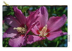 Rose Of Sharon Hibiscus Carry-all Pouch
