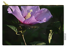 Rose Of Sharon Side Carry-all Pouch by Warren Thompson