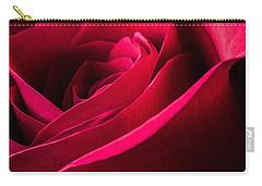 Rose Of Velvet Carry-all Pouch