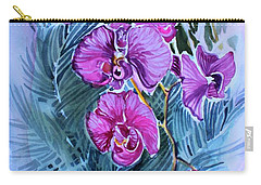 Rose Orchids Carry-all Pouch