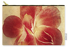 Carry-all Pouch featuring the photograph Rose Petals by Linda Sannuti