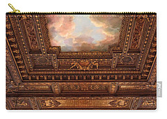 Carry-all Pouch featuring the photograph Rose Reading Room Ceiling by Jessica Jenney