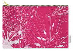 Rose Splash Carry-all Pouch by Methune Hively