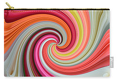 Rose Swirl 1 Carry-all Pouch