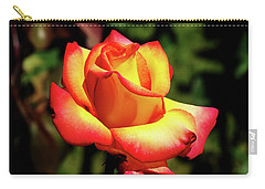 Carry-all Pouch featuring the photograph Rose To Remember by Dale Stillman