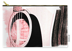 Rose Tones Carry-all Pouch by Linda Bianic
