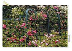 Rose Trellis Carry-all Pouch