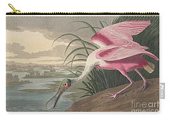 Roseate Spoonbill, 1836  Carry-all Pouch by John James Audubon