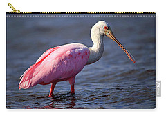 Roseate Spoonbill, Myakka River State Park, Florida Carry-all Pouch