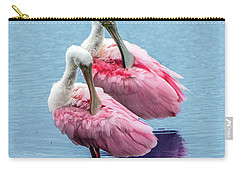 Roseate Spoonbill Pair Carry-all Pouch
