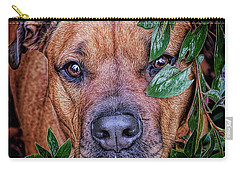 Rosebud Carry-all Pouch by Lewis Mann