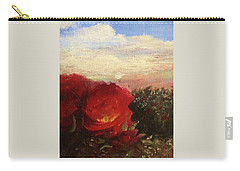 Rosebush Carry-all Pouch