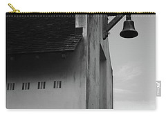 Rosemary Beach Post Office In Black And White Carry-all Pouch