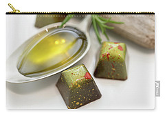 Rosemary Olive Oil Chocolate Carry-all Pouch
