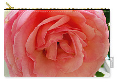 Roses And Clapboard Carry-all Pouch by Beth Saffer