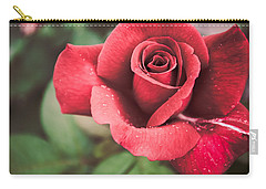 Carry-all Pouch featuring the photograph Roses Are Red by Parker Cunningham