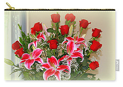 Rose's Carry-all Pouch by Athala Carole Bruckner