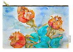 Roses Buds Carry-all Pouch