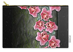 Roses Climbing Pillar Carry-all Pouch