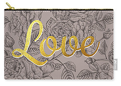 Roses For Love Carry-all Pouch by BONB Creative