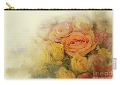 Roses For Mother's Day Carry-all Pouch by Eva Lechner