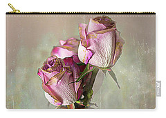 Roses In Vinegar Bottle Carry-all Pouch
