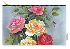 Roses Carry-all Pouch by Katia Aho